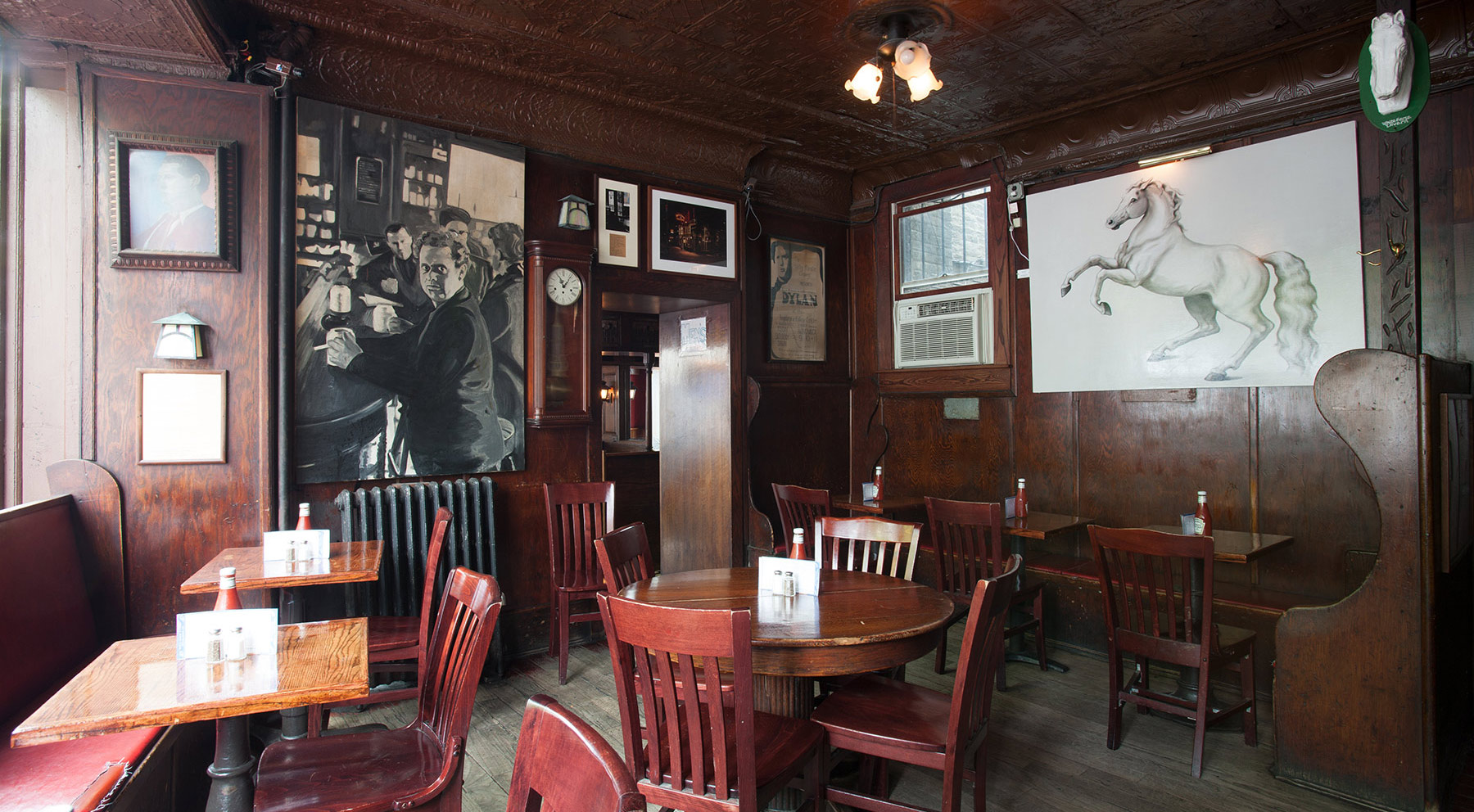 The White Horse Tavern is a legendary literary gathering place